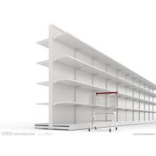 Металлические стойки супермаркет