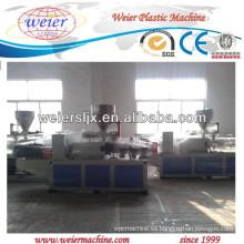 maquinaria de extrusión de doble tornillo para la fabricación de tubería de PVC