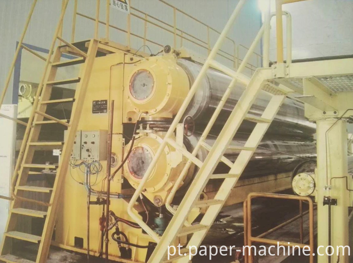 Calender for paper making machine