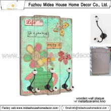 China Großhandel Home Decor Holz Handwerk für Wandbehänge
