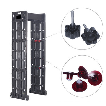 Outdoor High Sensitivity Mobile APP Fernbedienung Archway Metalldetektor