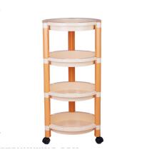 Produtos úteis de venda quente de 4 camadas de plástico tempero rack para uso doméstico