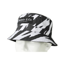 Good Quality Cotton Bucket Hat with Pattern Printed (U0025)