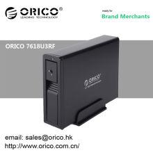 ORICO 7618U3RF 4tb Wifi 3.5 '' hdd gabinete disco rígido externo sem fio