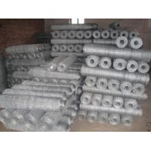 Tissu métallique hexagonal anping galvanisé et recouvert de PVC