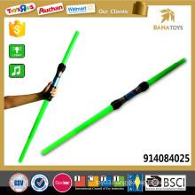 108cm Long cheap telescopic blue green light sword