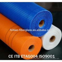 EIFS 4mmx4mm160gr / m2 Mesh en fibre de verre résistant aux alcalis