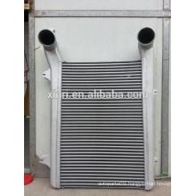 Truck intercooler full aluminum intercooler for DAF heavy trucks 1327673 NISSENS: 96975