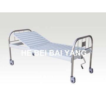 A-134 Movable Single Function Manual Больничная кровать