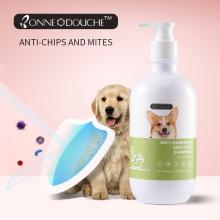 Шампунь для собак против перхоти и блох для ухода за домашними животными