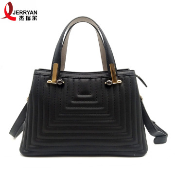 Ladies Black Leather Tote Bags Designer Handtaschen