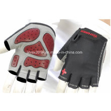 Cycling Half Finger Sports Bike Bicycle Cycle Sports Equipment Glove with Bucklle Gel Padding Sports Wear Jg12h003
