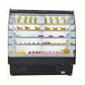 Refroidisseur de présentation incurvé de fruits et légumes frais