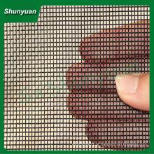 Plain weave telas de aço inoxidável bala prova / tela de metal janela de malha (fábrica)
