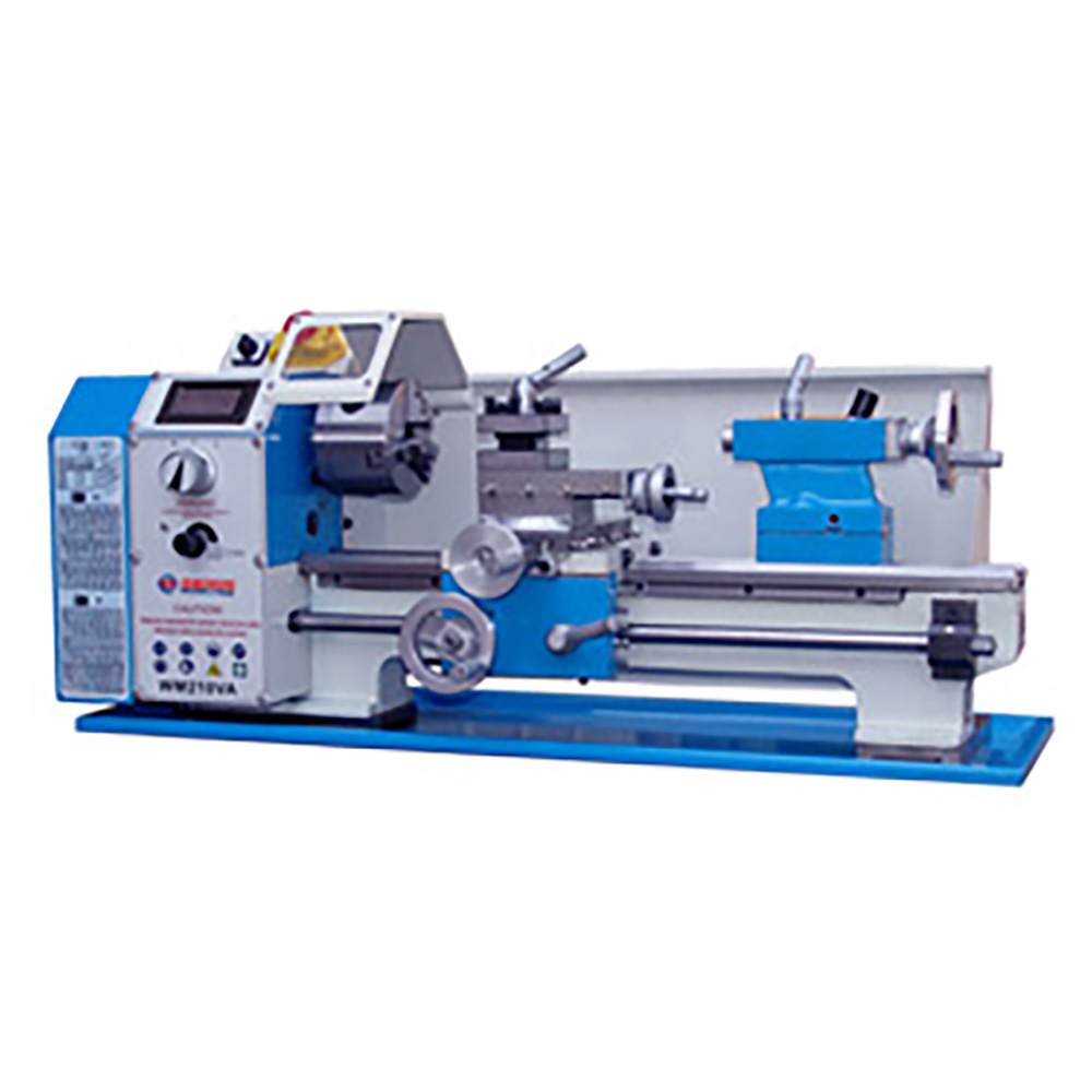 Variable speed lathe Swing over bed 210 mm