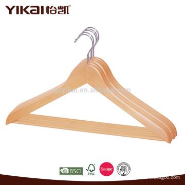 Camisa e calças cabide de madeira
