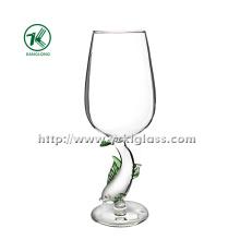 Single Wall Wine Glass by SGS (DIA8*22)
