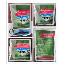 Antibióticos Doxiciclina HCL Polvo soluble en agua 20%