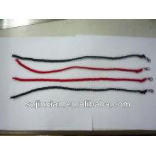 мода сделать плетеный канат браслет с шармами