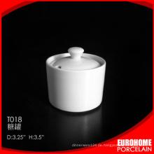 Chaozhou Fabrik China Großhandel hat Porzellan Keramik Zuckerdose