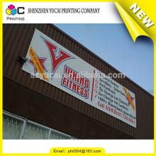 China fornecedor personalizado one way vision vinil banner impressão e publicidade pvc vinil banner
