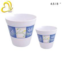 cheap wholesale home decoration melamine plastic vase