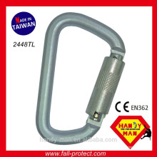 2448TL CE EN362 Steel Safety Carabiner