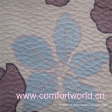 100% Polyester High Quality Print Brushed Flocked Fabric