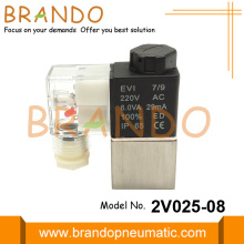 2V025-08 2 Way 2 Position Pneumatic Solenoid Valve