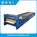 Máquina formadora de rolo de painel de telhado para material de construção