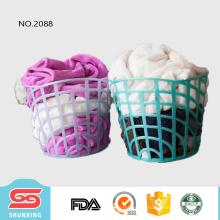 Cesta grande de la cesta de lavadero redonda del almacenamiento grande del precio bajo para la ropa