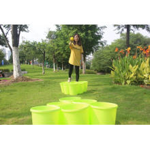 Giant Yard Pong with Durable Buckets and Balls