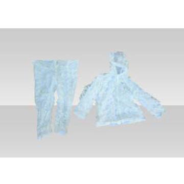 Snow split camouflage clothing