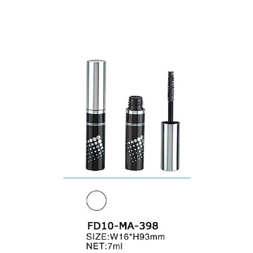 Popular Design Shinning Plastic Cosmetic Mascara Bottle