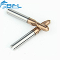 BFL Double Blades Ball Endmill,Coating 2 Flutes Ball Nose Milling Cutter,Cutting Tools