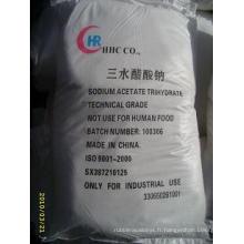 Sodium acétate/acide acétique/Sodium sel/trihydraté/anhydre