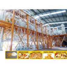 moinho de farinha automático PLC Máquina de moagem de farinha de trigo moinho de farinha de trigo