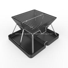 Hochkompakter klappbarer Holzkohle-BBQ-Grill