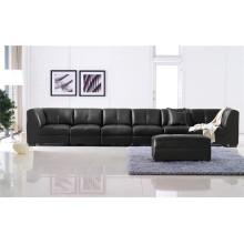 Echtes Leder Chaise Leder Sofa Elektrisch Verstellbares Sofa (895)