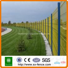 Barrière en treillis métallique enduite de poudre certifiée (fabricant professionnel)