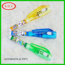 Security Writing Mini Invisible UV Pen with UV light