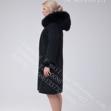 Hilo brillante decoración Australia Merino Shearling Lady Coat