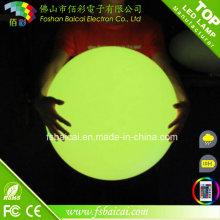 Multi Farbe Outdoor hängende LED Licht Bälle Schwimmende LED Kugel mit Ladegerät Remote Farbe ändern Lichter