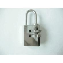 21mm Chrome Plated Brass Combination Padlock (110212)