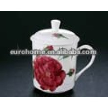 rose mugs and cups with lid