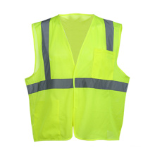 Polyester Mesh High Visibility Reflective Safety Vest