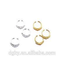 Mode Körper piercing Schmuck indischen Nase Septum Piercing Ringe