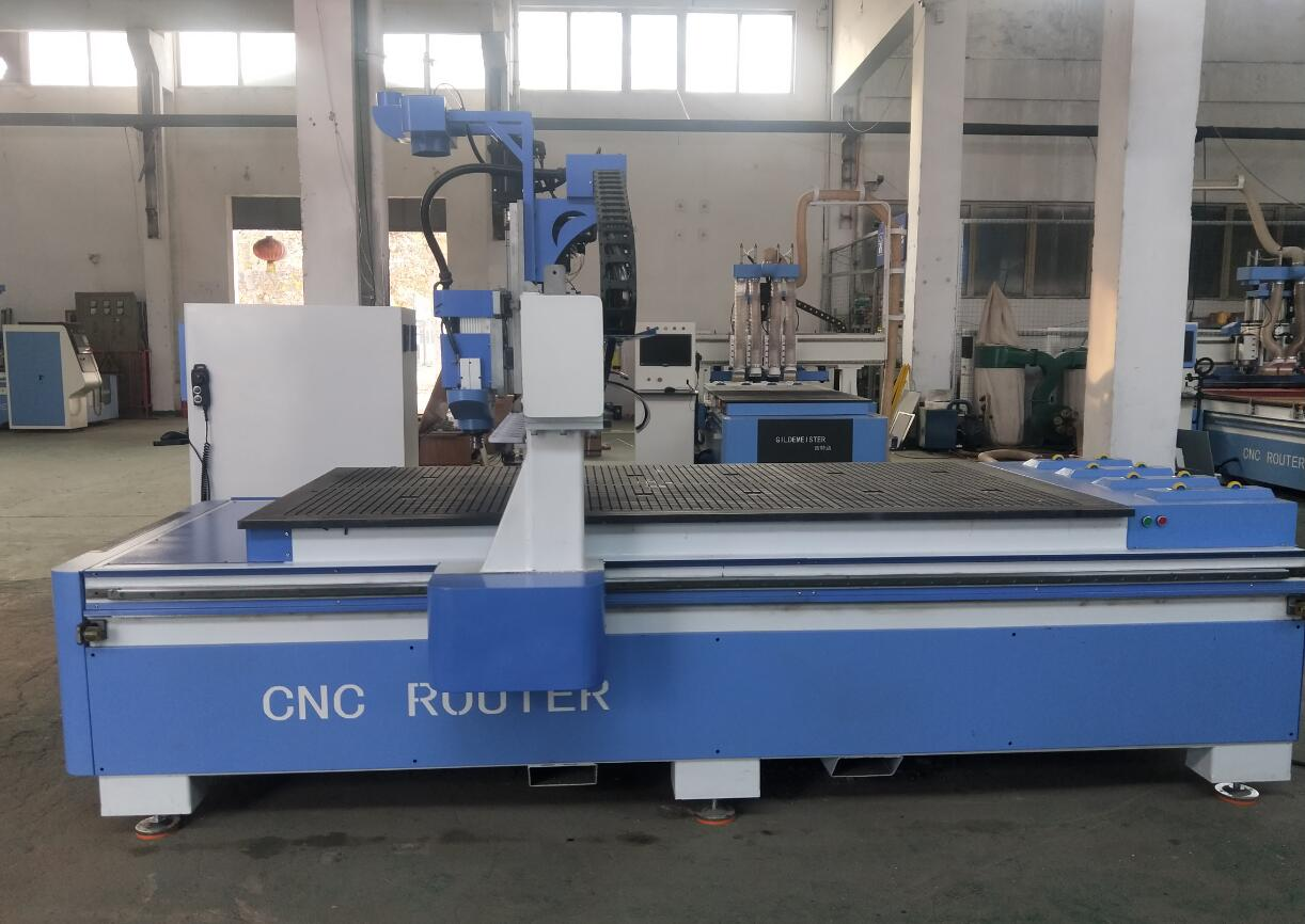 Wood cnc router machine atc