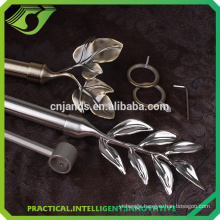 D-S0016 New style curtain rods leaf finial