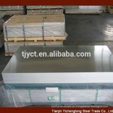 Pure 99,99% folha de alumínio / placa / preço da bobina por tonelada